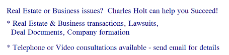 charles holt is a texas attorney real