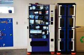 Hardware Vending Machine Beauteous Facebook Campus Vending Machines Dispense Various Tech Products To