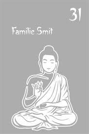 Raamfolie Gesneden Raamfolie Voordeur Boeddha Met Huisnr En Naam