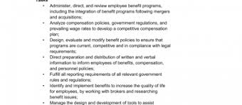 employee benefits package template employee benefits package template tirevi fontanacountryinn com