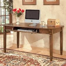 signature design by ashley furniture hamlyn large leg computer desk