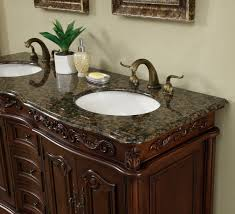 60 double sink vanity with granite top. granite top 60 inch antique style double sink bathroom vanity with e
