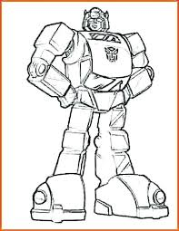 Transformer Coloring Pages To Print Ideal Transformers Coloring Page