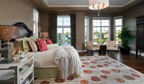 Modern White And Orange Wall Of The Beautiful Bedrooms With - Bedroom window treatments
