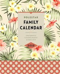 Polestar Family Calendar 2019