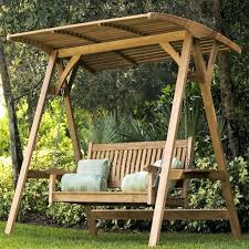 outdoor covered swing deck canopy a swinging garden bench swings teak furniture front yard swings benches outdoor covered swing swing bench