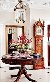 perfect round hallway table with best 25 entry ideas