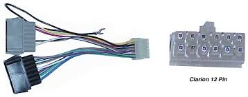 tune town car audio replacement radio wiring harness clarion 12 pin replacement radio wiring harness