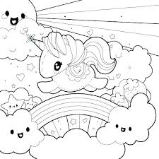 Coloring Pages Of Unicorns Unicorn Coloring Pages For Kids Free