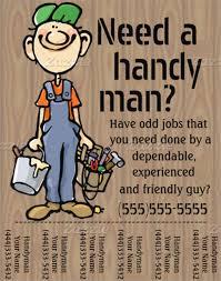 free handyman flyer template free handyman flyer templates cti advertising