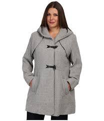2017 uk jessica simpson gray pea coats for women plus size jofwh025 coat
