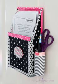 diy wall mounted tissue box holder new diy magnetic hanging homework holder cute decor project