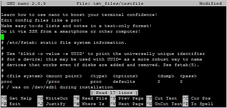 The Help Text The Beginners Guide To Nano The Linux Command Line Text Editor