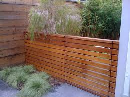 horizontal privacy fence Landscape Modern with none. Image by: Outer space  Landscape Architecture