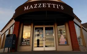 The Excellent Appearance Of Mazzettis Bakery New Storefront At