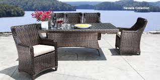 amazing wicker patio dining sets house decorating pictures bondi outdoor dining set 9pc rattan wicker charcoal