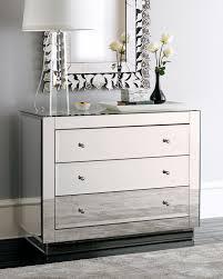 Mirror Furniture Modern Mirrored Furniture Set Of 2 Glam Mirrored Mirror Furniture