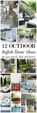 home spaces furniture. 12 Stylish Porch, Deck And Patio Decor Ideas Home Spaces Furniture