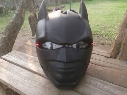 custom classic batman real motorcycle helmet flip up version