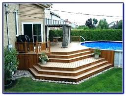 simple pool deck plans. Wonderful Deck Pool Deck Plans Simple Ideas Above Ground  For Simple Pool Deck Plans P