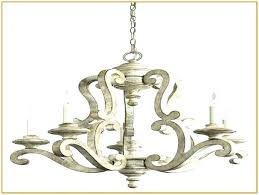distressed white chandeliers wood chandelier antique dis