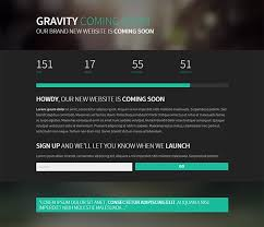 Simple Website Templates Adorable 48 Free Coming Soon Under Construction HTML Web Templates