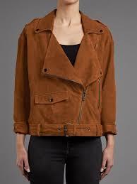fleetwood tan suede biker jacket