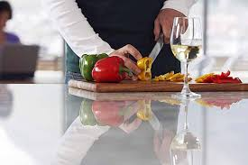 kitchen counter with food. Glass Kitchen Counter | Foodal.com With Food N