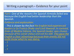 the spanish armada l o how do we write a good essay ppt video  5 writing
