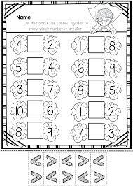 7 Greater Than Less Than No Prep Kindergarten Math Greater Than Less ...
