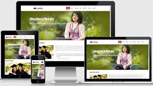 Responsive Website Template Enchanting Learn Educational Free Responsive Web Template WebThemez
