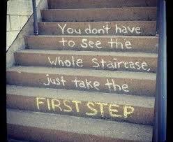Image result for Take little step forward