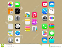 Ipad App Icon Design Ios Icon Pack Editorial Photo Illustration Of Ipad 118453346