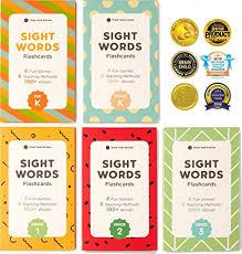 Dolch Second Grade Sight Words Flash Cards Think Tank Scholar 500 Sight Words Flash Cards Bundle Kit Preschool Kindergarten 1st 2nd 3rd Grade