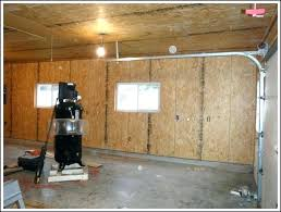 pleasant garage wall covering ideas for walls new finishing plywood design