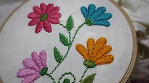 Stitch N Time Embroidery Designs Hand Embroidery Designs Satin Stitch Stitch And Flower 128