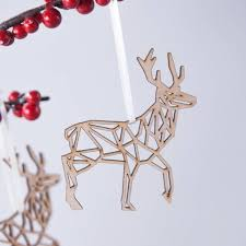 christmas 12 deer christmas decorations image ideas christmasriginal geometric reindeer bauble decoration animated deer decorations indoor