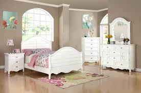 White Childrens Bed Wooden Kid Bed Wooden Girls White Bedroom ...