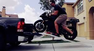 How to Load a Motorcycle Onto a Truck - BikeBandit.com