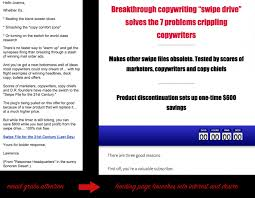 Copywriting Examples The Complete Guide To Copywriting Formulas Dont Write From