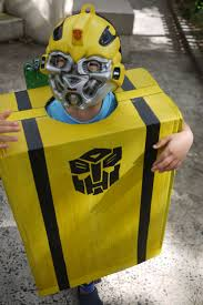 Home-made <b>Bumble Bee</b> Transformer costume with <b>jet</b> packs ...