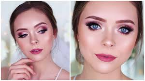 in depth bridal makeup tutorial dramatic rose gold