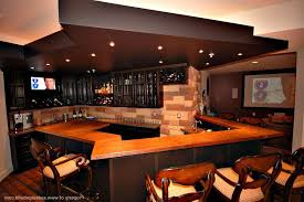 Wall Screen Ideas Unique Pendant Lamp Man Cave Bar Designs Marble  Countertop On Wooden Flooring Wall Display Guitar Collection Brown Pool  Table