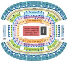 Kenny Chesney Seating Chart Cowboy Stadium Kenny Chesney Florida Georgia Line Old Dominion Tickets