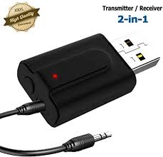 Aigital Bluetooth 5.0 Receiver Transmitter with Display <b>2-in-1</b> ...