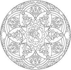 Disegni Da Colorare Disegni Da Colorare Mandala Natalizi