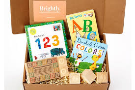 give the gift of reading all in one cool gift box from the new brightly