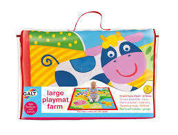 galt toys large playmat farm galt amazoncouk baby