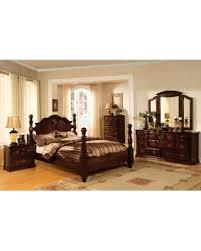 green bedroom pine furniture. Furniture Of America Weston Traditional 4-piece Glossy Dark Pine (Green) Poster Bedroom Green
