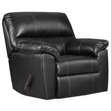 faux leather recliner39